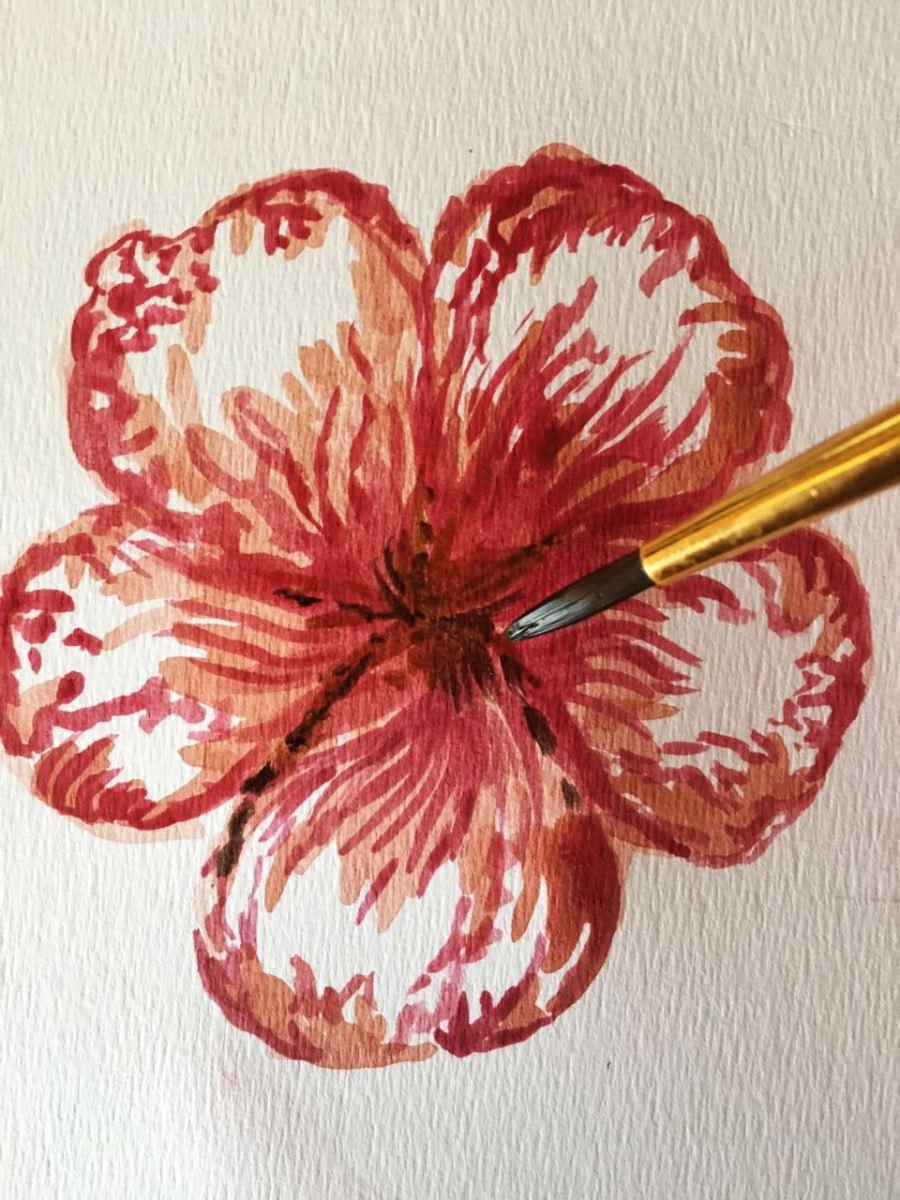 #ProyectoCreArte: Pintar flores con acuarelas