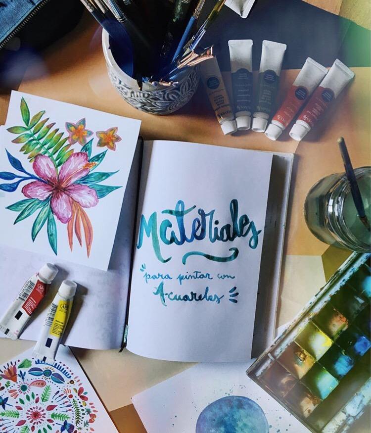 Materiales Qué Uso Para Pintar