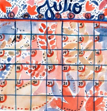 Calendario Meraki