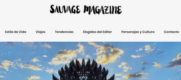 Tipografía para Sauvage Magazine