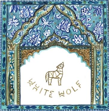 Ilustración para tag de White Wolf